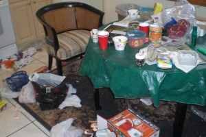 See the rest - and now it's a chaotic kitchen