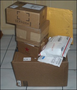 SEVEN unopened packages