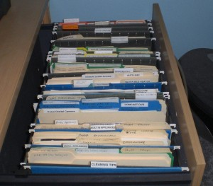 Lateral File Drawer #3 - Manuals